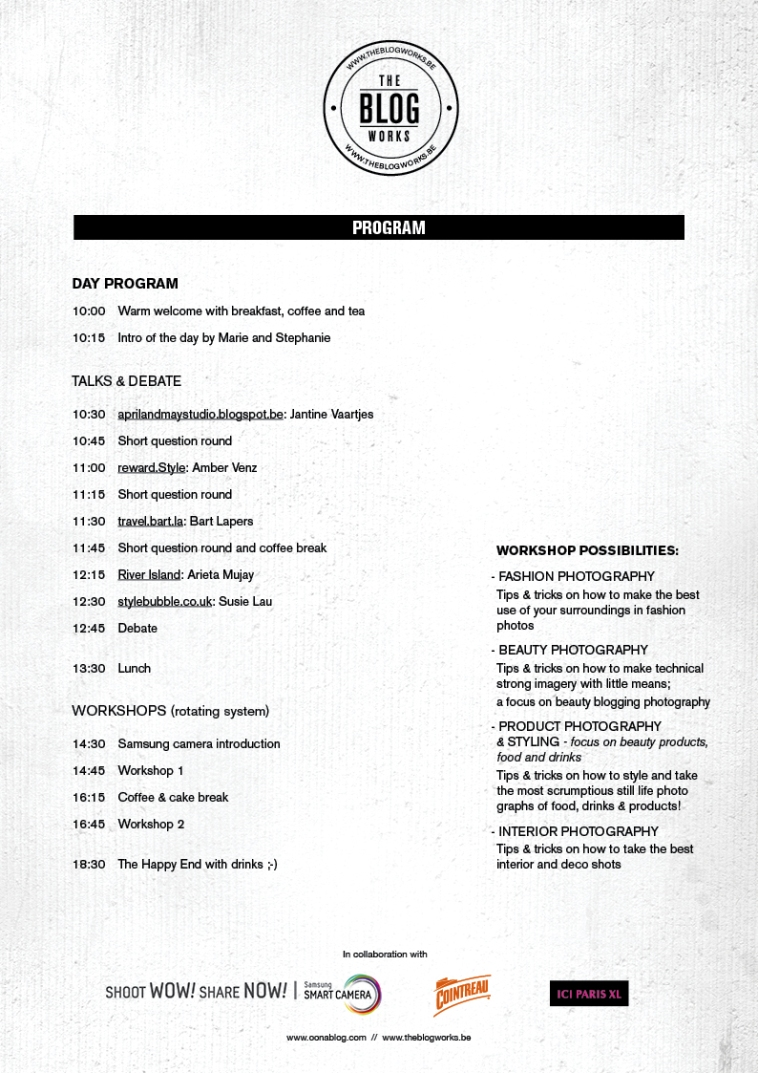 Programme_The blog works